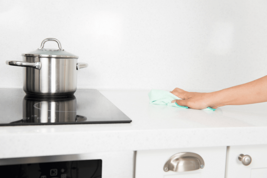 food allergy kitchen cleaning