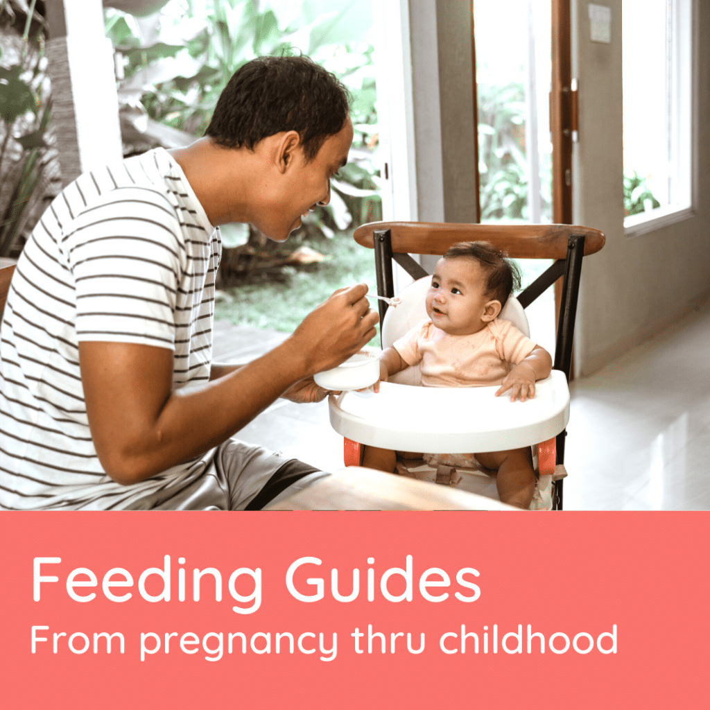 Fooblie feeding guides help parents feed their kids with confidence.