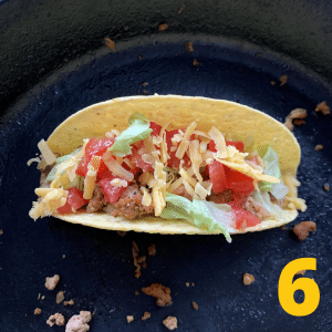 Step 6 Assemble the tacos