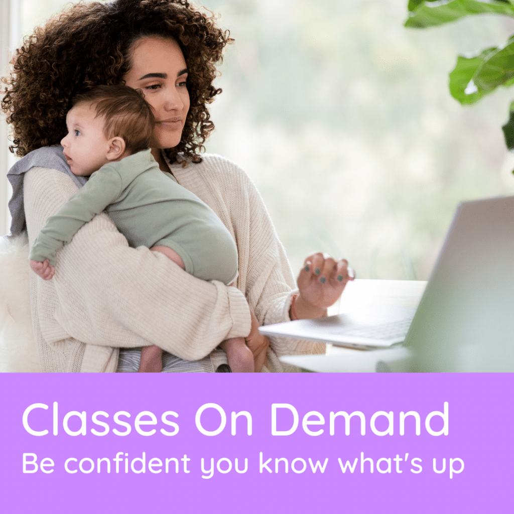 Fooblie offers classes on demand to be confident you know what's up with feeding your baby.